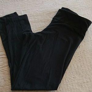 Black leggings m(8-10)